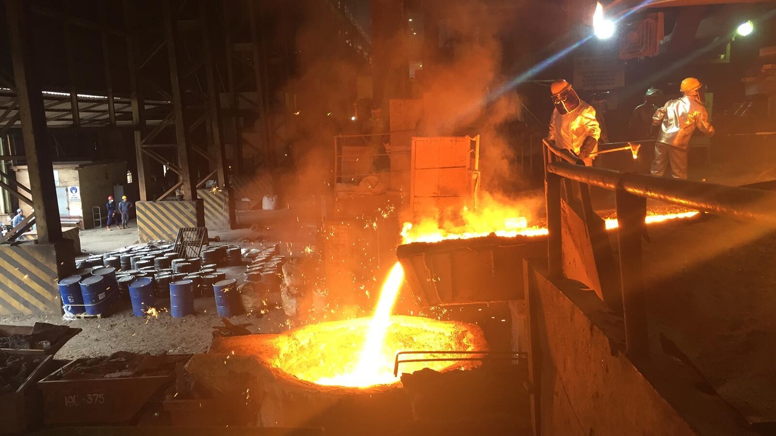 Melihat Pabrik Pengolahan Nikel Milik Antam di Pomalaa