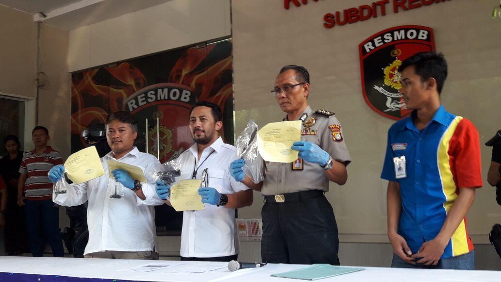 Polisi Tembak Mati Seorang Pencuri Motor di Banten