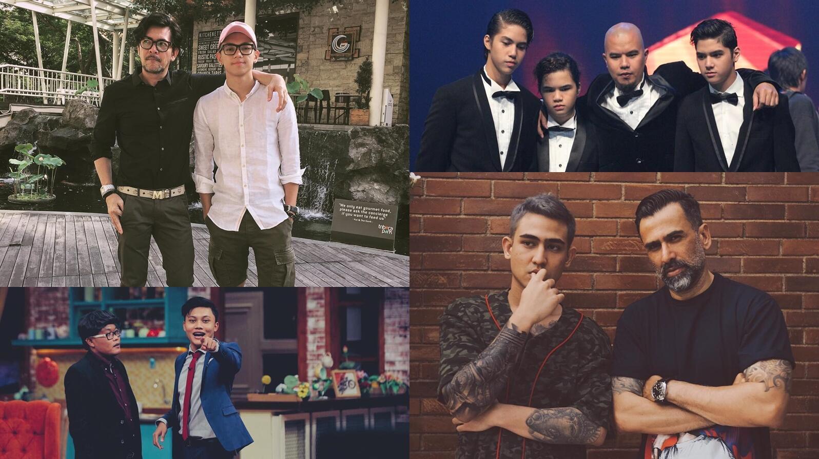 9 Selebriti Pria dan Putra Mereka yang Juga Eksis di Dunia Hiburan