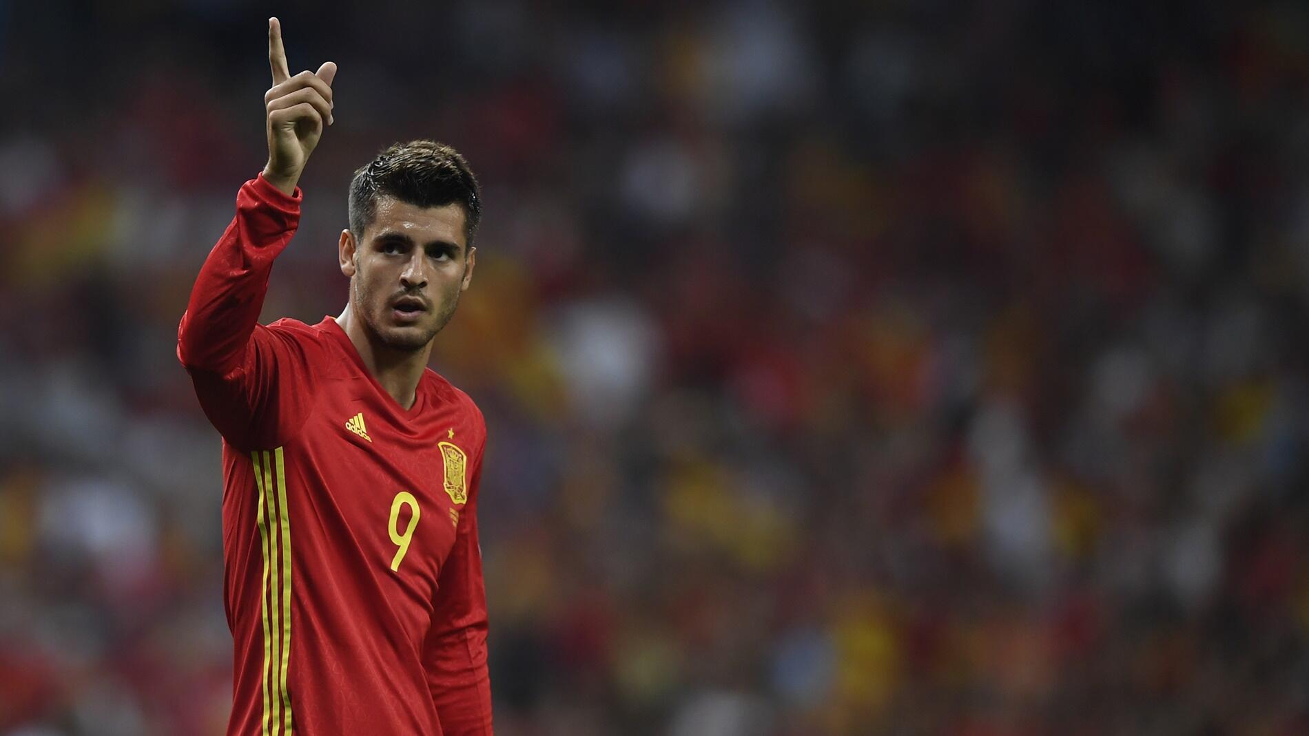 Piala Dunia 2018: Morata Belum Menyerah Rebut Tempat di Timnas