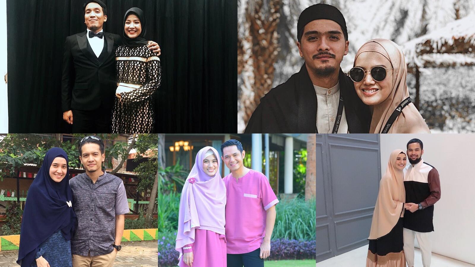 7 Pasangan Artis yang Memutuskan untuk Memperdalam Ilmu Agama