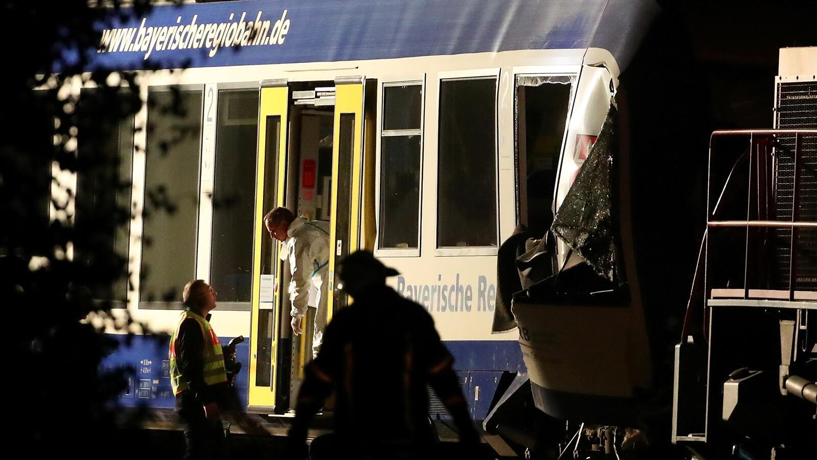 Tabrakan Kereta di Jerman Tewaskan Dua Orang