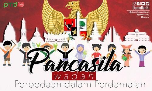Pancasila, Wadah Perbedaan dalam Perdamaian