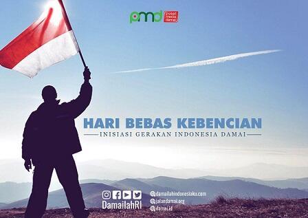 Hari Bebas Kebencian, Sebuah Inisiasi Gerakan Indonesia Damai