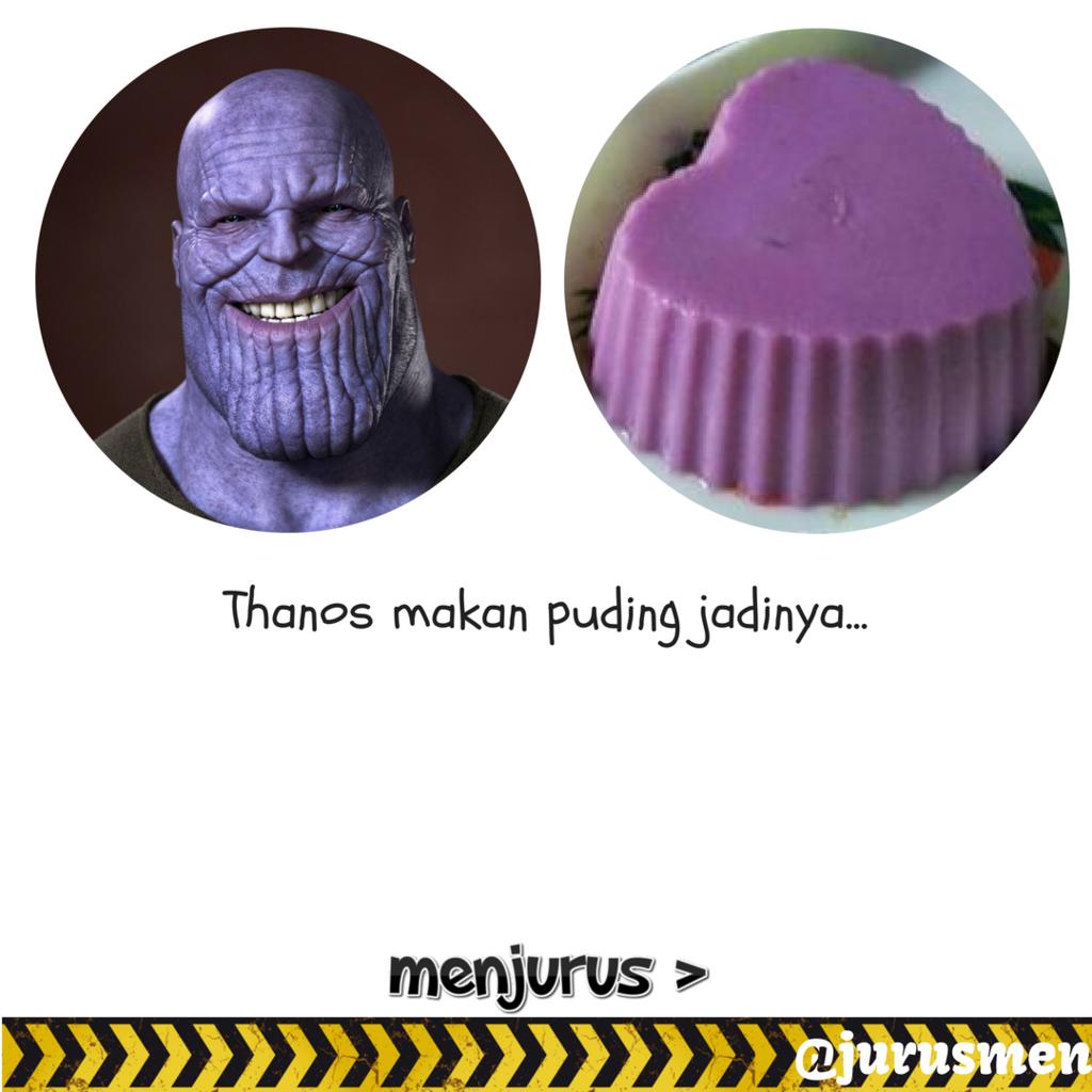 Thanos Doyan Kue Tradisional Indonesia Loh!