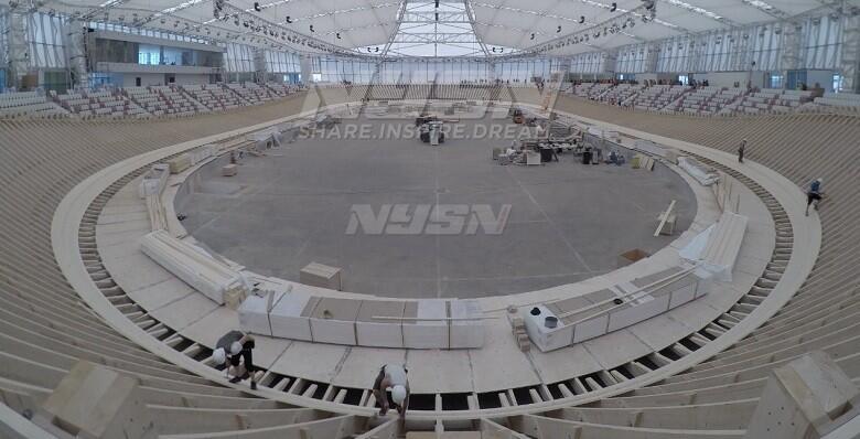 Dijajal Pebalap Timnas, Velodrome Asian Games 2018 Mulai Bisa Digunakan