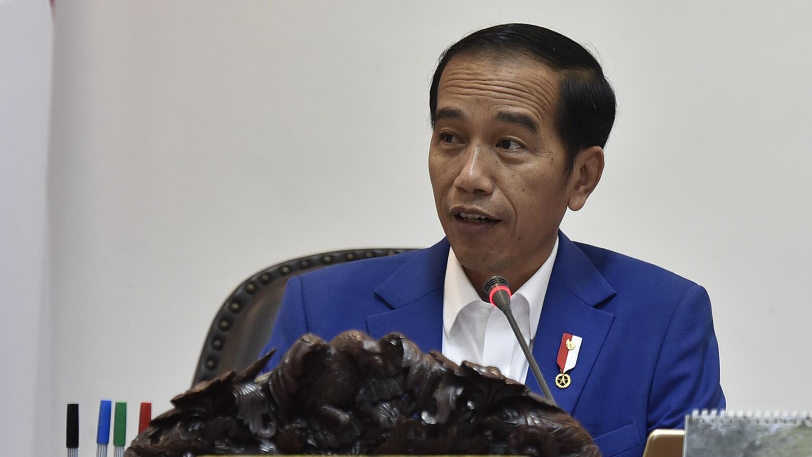 Di Sela-sela Kunjungan Kerjanya, Jokowi Sapa Warga di Mal Riau