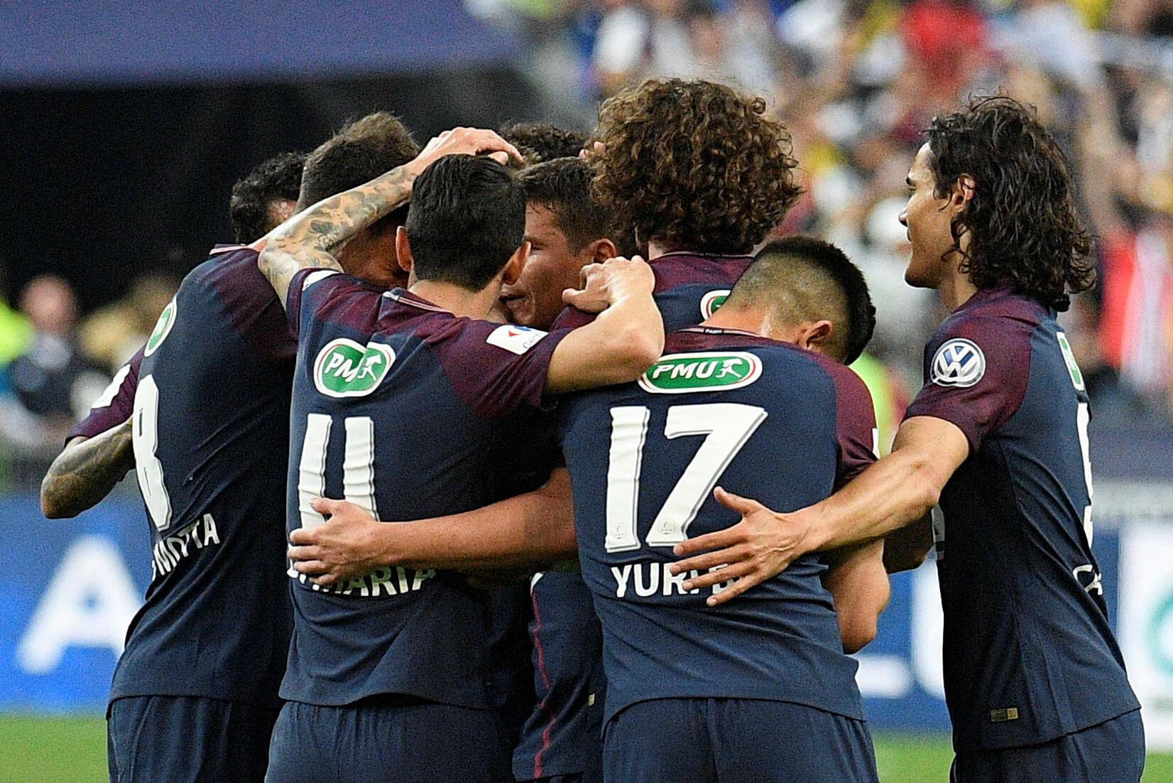 Kalahkan Les Herbiers 2-0, PSG Juara Coupe de France