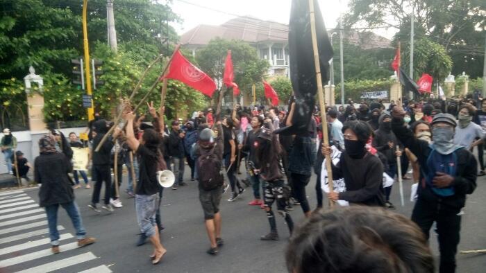 Tanggapan Aliansi Buruh Yogyakarta soal Dibekuknya Pelaku Aksi Anarkis