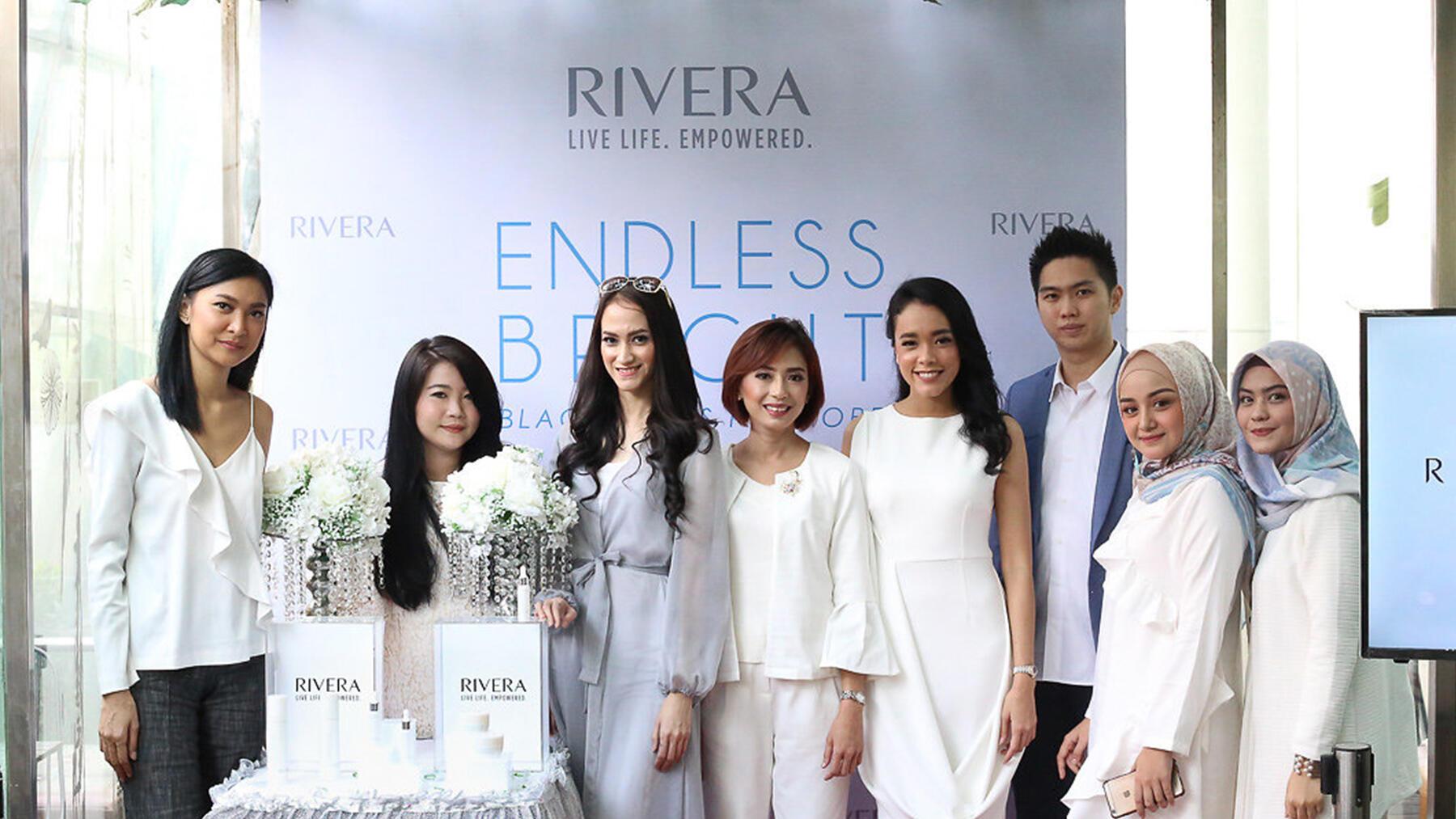 Brand Kecantikan Rivera Luncurkan Rangkaian Produk Brightening Baru