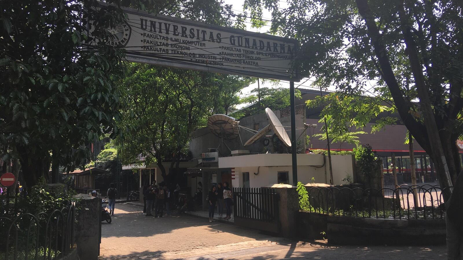 Kampus Gunadarma di Dekat Rutan Mako Brimob Tetap Gelar UTS