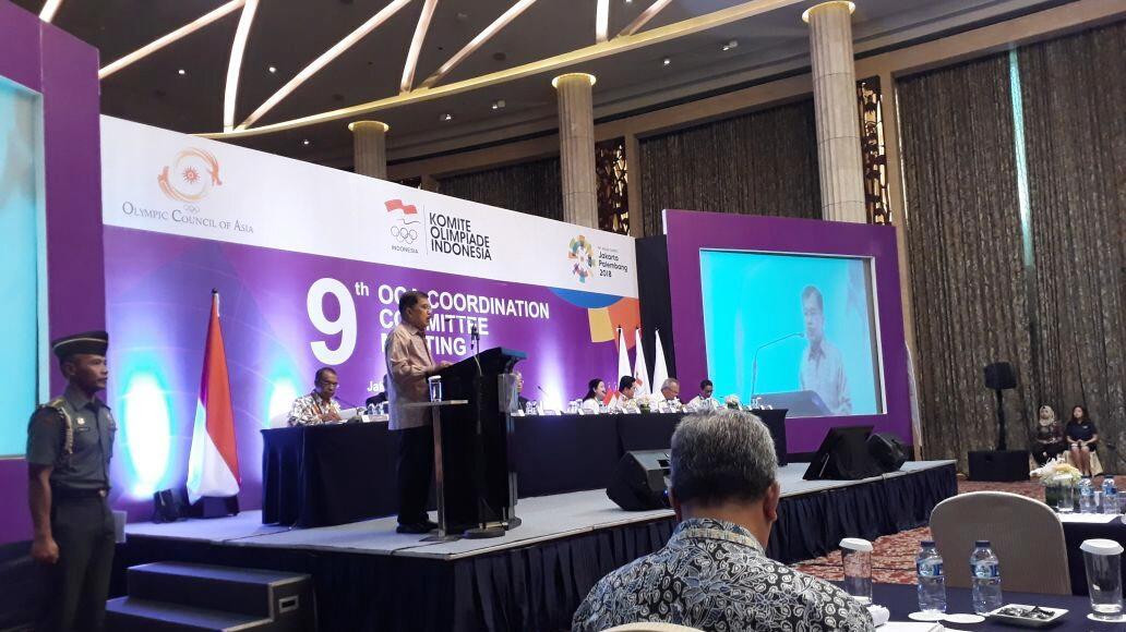 Di Hadapan Olympic Council of Asia, JK Jamin Asian Games Siap Digelar