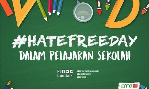 Penguatan Literasi 'Hate Free Day' dalam Pembelajaran Sekolah