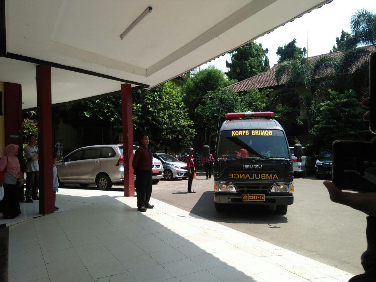 Bentrokan di Mako Brimob, 6 Kantong Jenazah Tiba di RS Polri