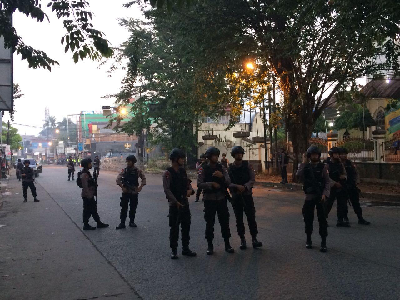 Kerusuhan di Mako Brimob, Jalan Komjen M Yasin Masih Ditutup