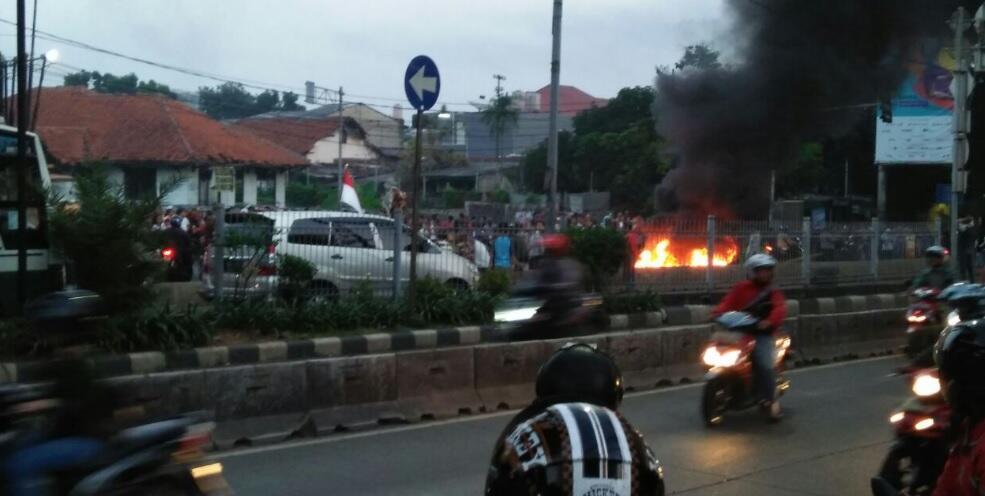 Pengosongan Rumah Dinas TNI di Tanah Kusir Berakhir Ricuh
