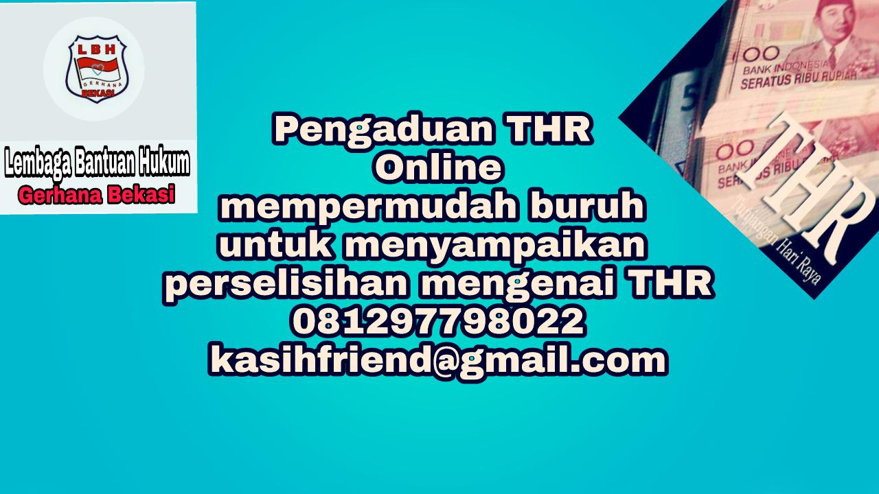 Pengaduan THR Online