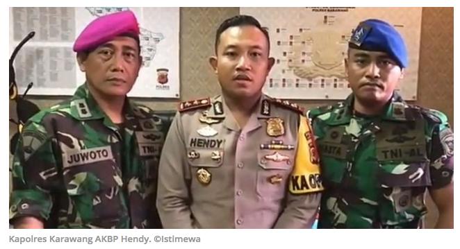 Viral video Kapolres Karawang minta maaf ke Panglima TNI, Kopassus dan Marinir