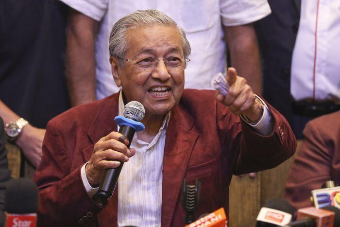 Mahathir segera jadi perdana menteri tertua di dunia
