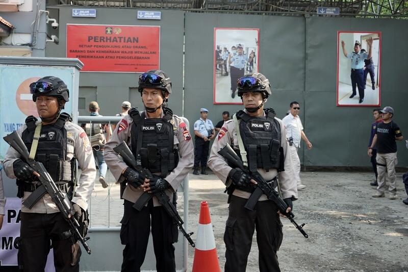 Narapidana Teroris Ditempatkan One Man One Cell di Nusakambangan