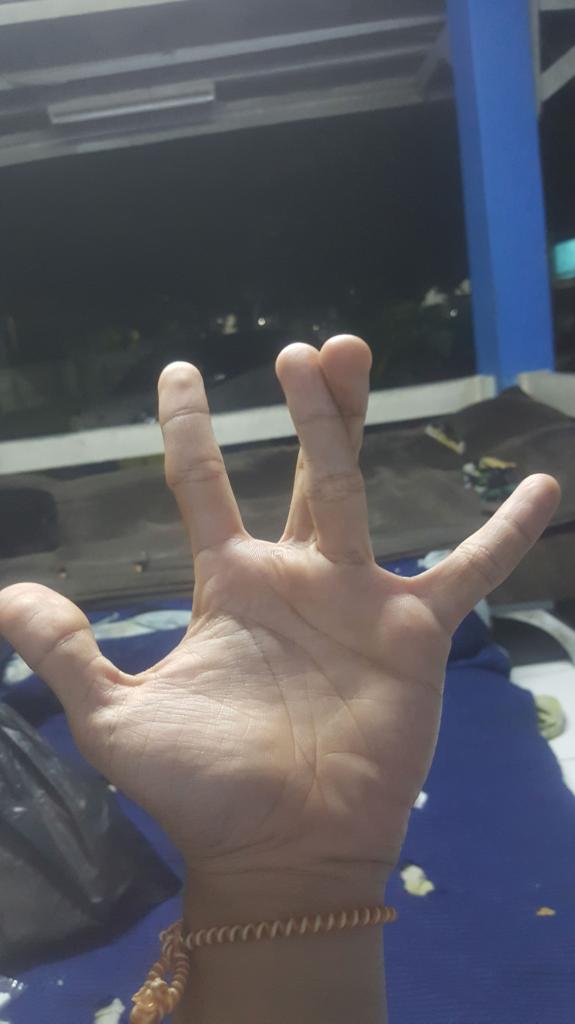 Inia simbol tangan apa ya gan??