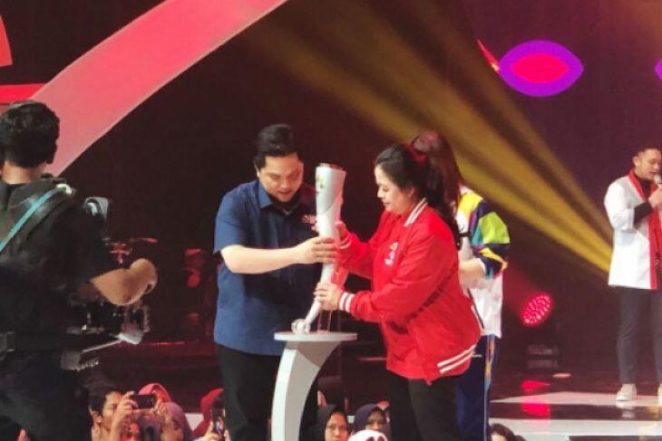 H-100, Inasgoc Perkenalkan Obor Asian Games
