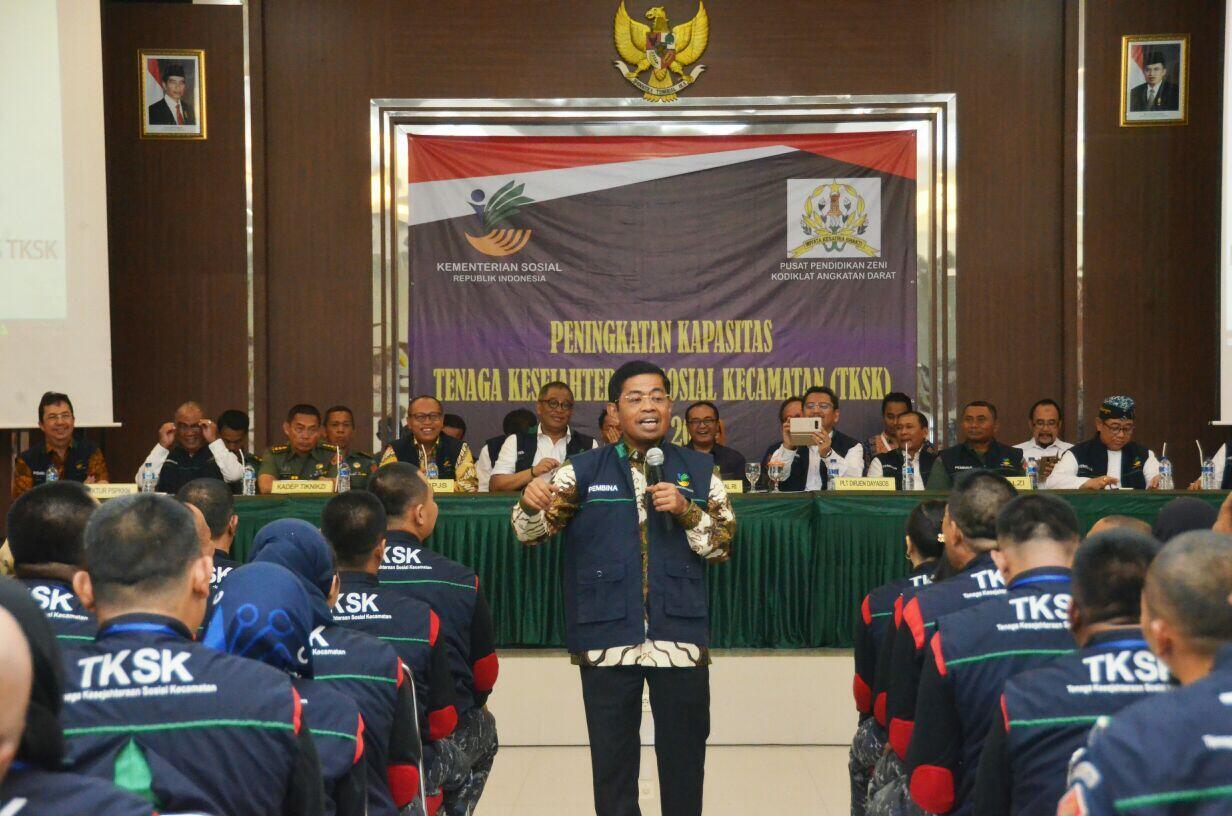 Mensos Ingatkan TKSK Tak Larut Dalam Dinamika Politik