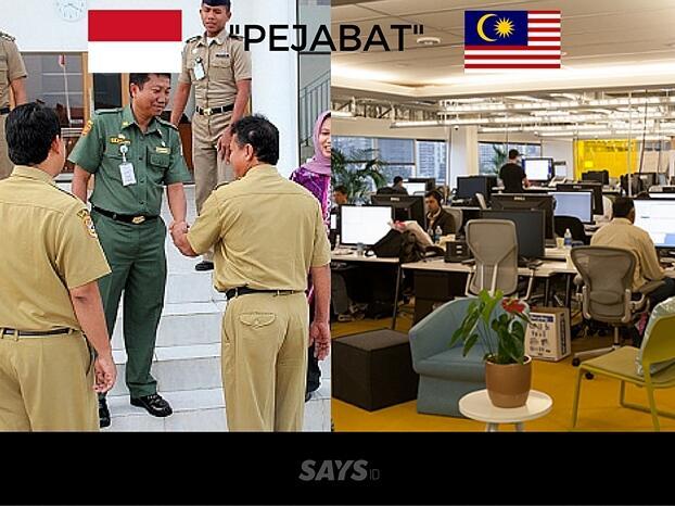 Indonesia VS Malaysia, Tulisan Bisa Sama Tapi Artinya Beda Jauh Gan