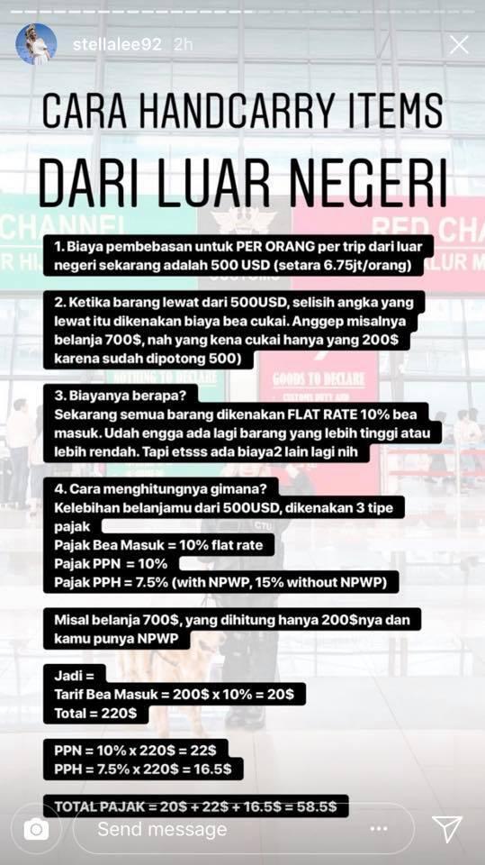 peraturan bea cukai indonesia untuk barang bawaan penumpang page rh kaskus co id