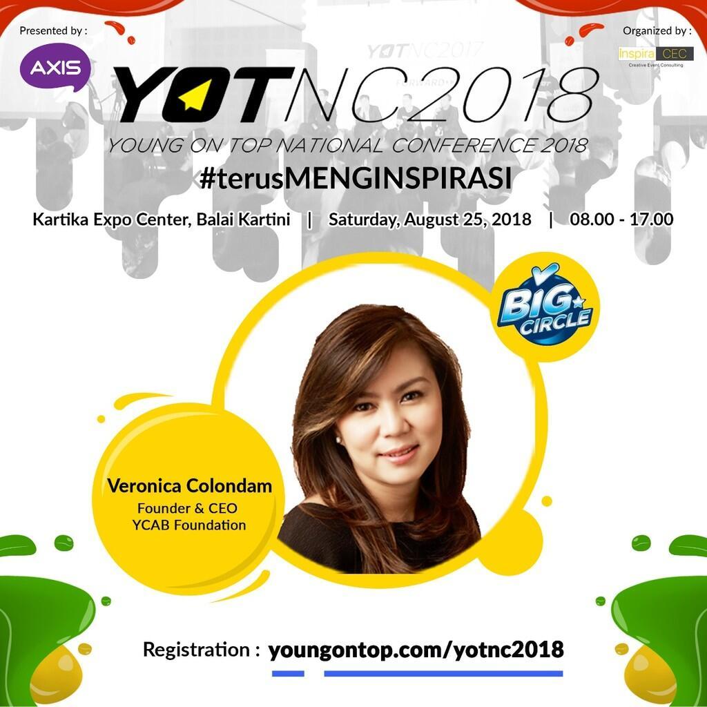 Yuk Kenalan Sama Veronica Colondam, Founder & CEO YCAB Foundation