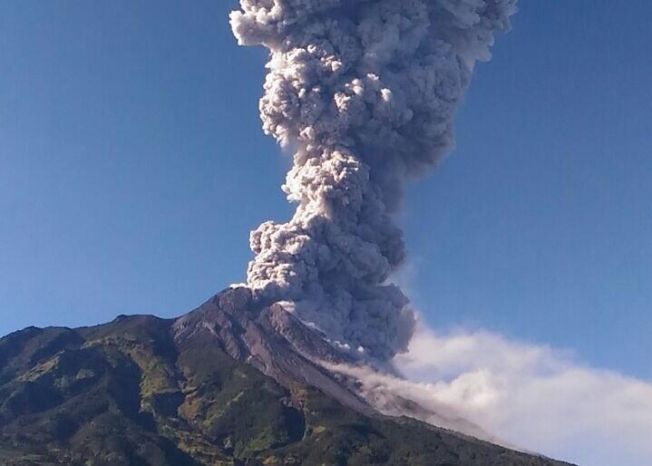 Gunung Merapi Meletus Freatik, BNPB: Tidak Berbahaya