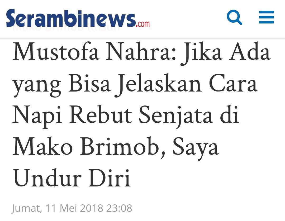 Denny Siregar Ungkap Kenapa Kebanyakan Pendukung Teroris adalah Pembenci Jokowi
