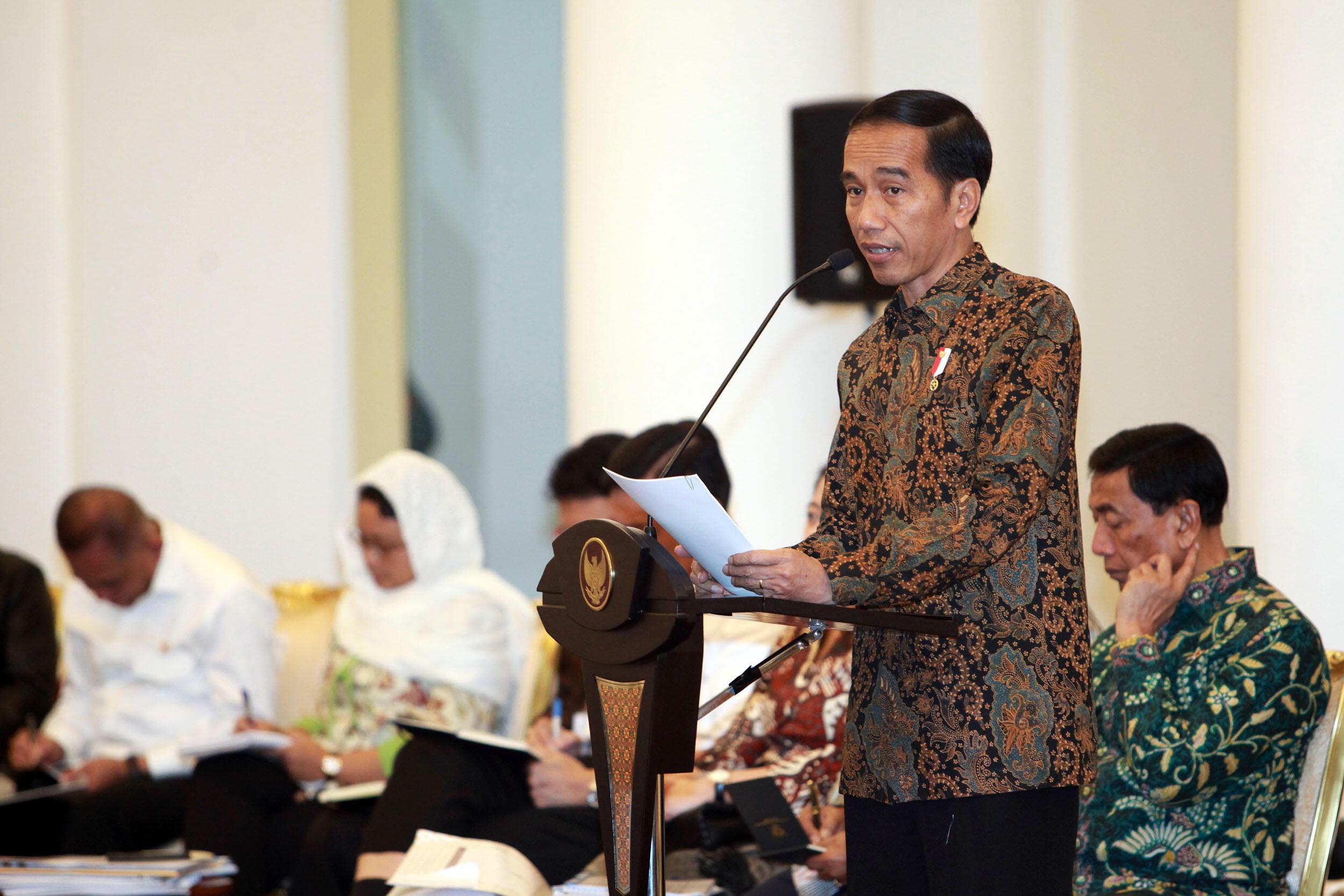 Jokowi Minta Masyarakat Jangan Terpecah Belah