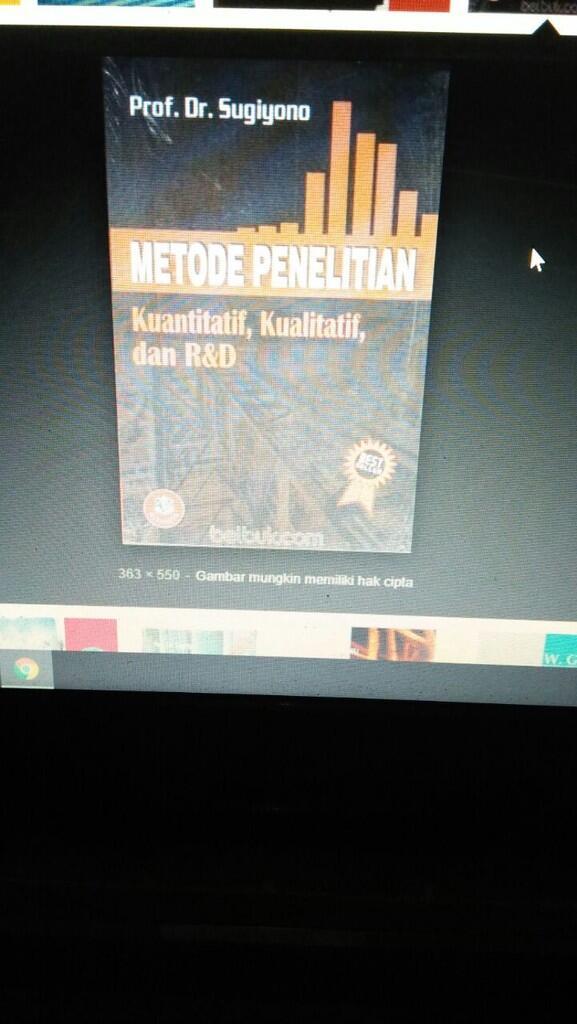 Ada yg punya soft copy buku metode penelitian kuantitatif,kualitatif by sugiyono