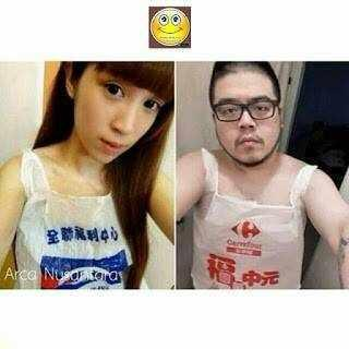 10 Meme Baju Couple ini Kocak Abis, ABG Alay Pasti Kesindir Nih!