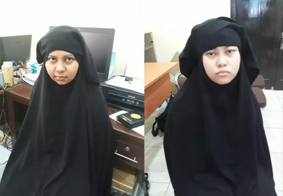Beredar Bocoran BAP, Dua Wanita Terduga Teroris Akan Berperang Dengan Aparat Kepolisi
