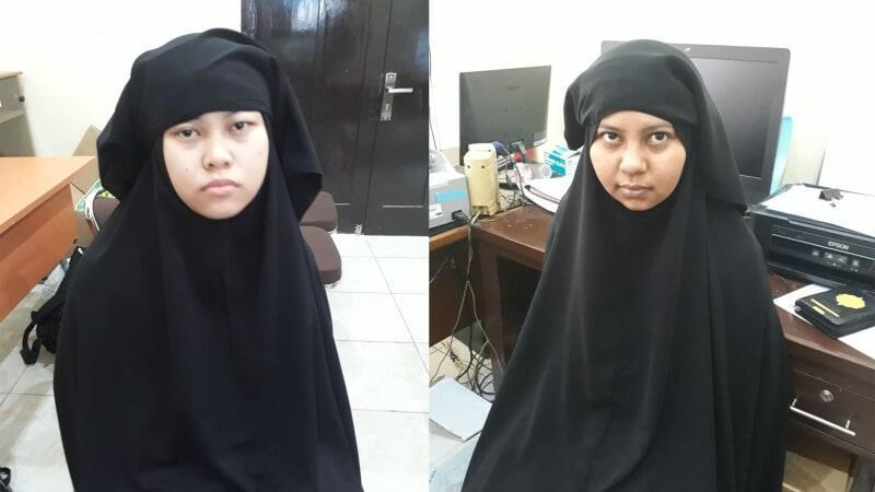 Dua Wanita Terduga Teroris Ditangkap Saat Akan Masuk Mako Brimob