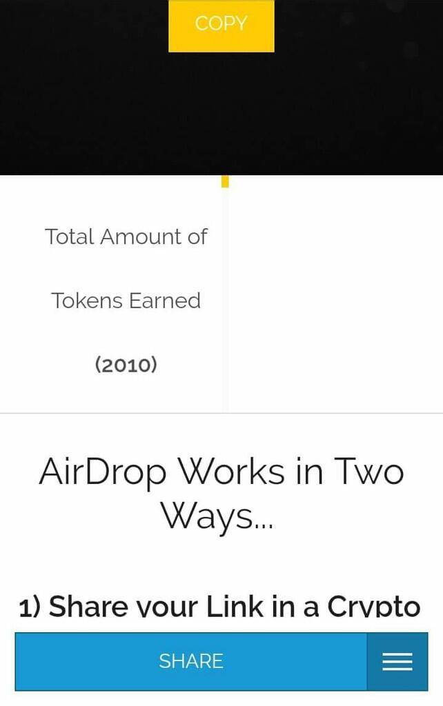 Airdrop hot dan viral 2018