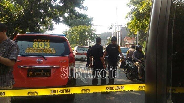 BomBom guncang Surabaya