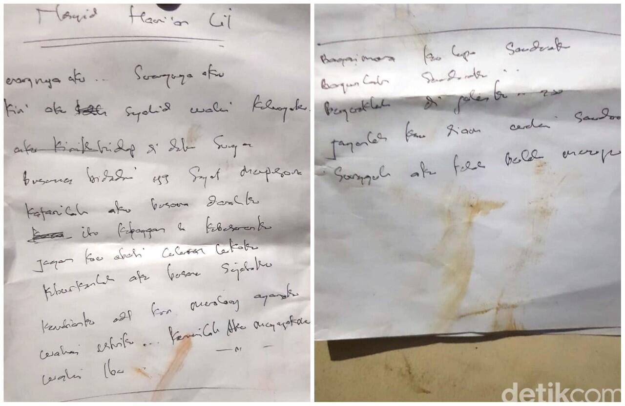 Surat Cinta Bidadari Syurga Teroris Sukabumi
