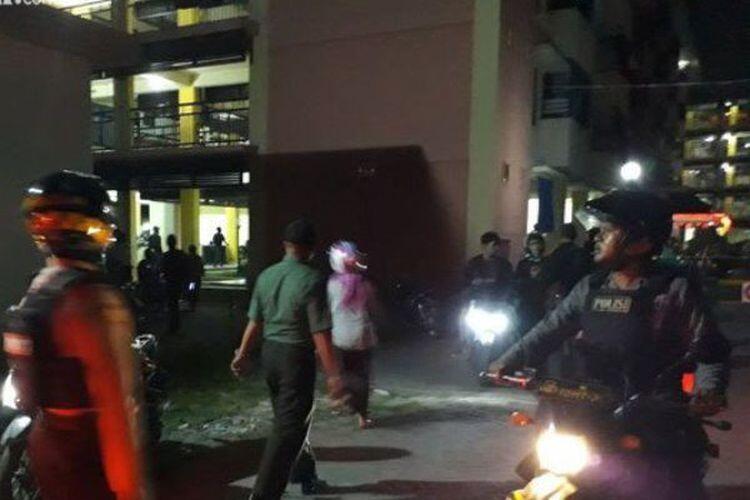 BREAKING NEWS : Usai di Gereja, Polsek Taman Sidoarjo Diteror Bom