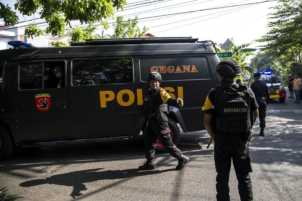 Ledakan di Gereja Pantekosta Surabaya Diduga Bom Mobil