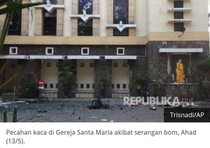 TGB: Bom Gereja di Surabaya Menyakiti Umat Islam