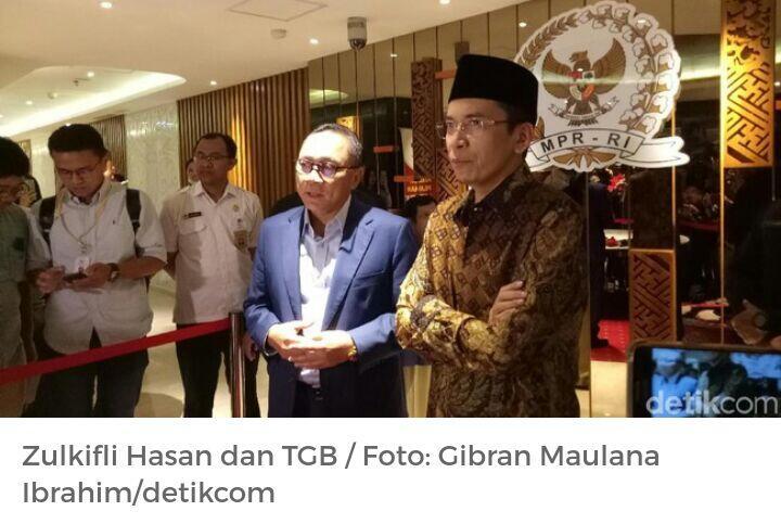 LSI Denny JA: Airlangga-Moeldoko-TGB Cawapres Potensial Jokowi