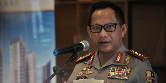 Kapolri sebut pelaku teror bom Surabaya satu keluarga