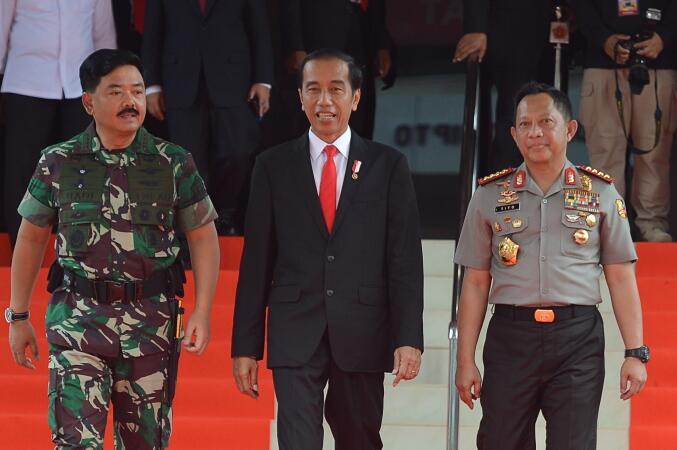 TNI-Polri Akan Operasi Gabungan Tangkapi Sel-Sel Kelompok Teroris
