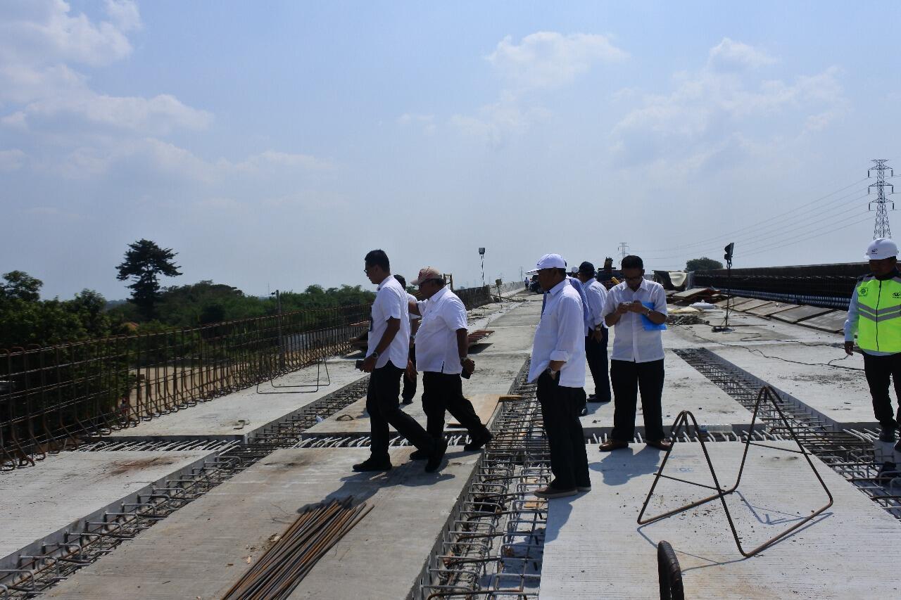KSP Monitoring Persiapan Mudik Lebaran Jalan Tol Semarang-Pejagan