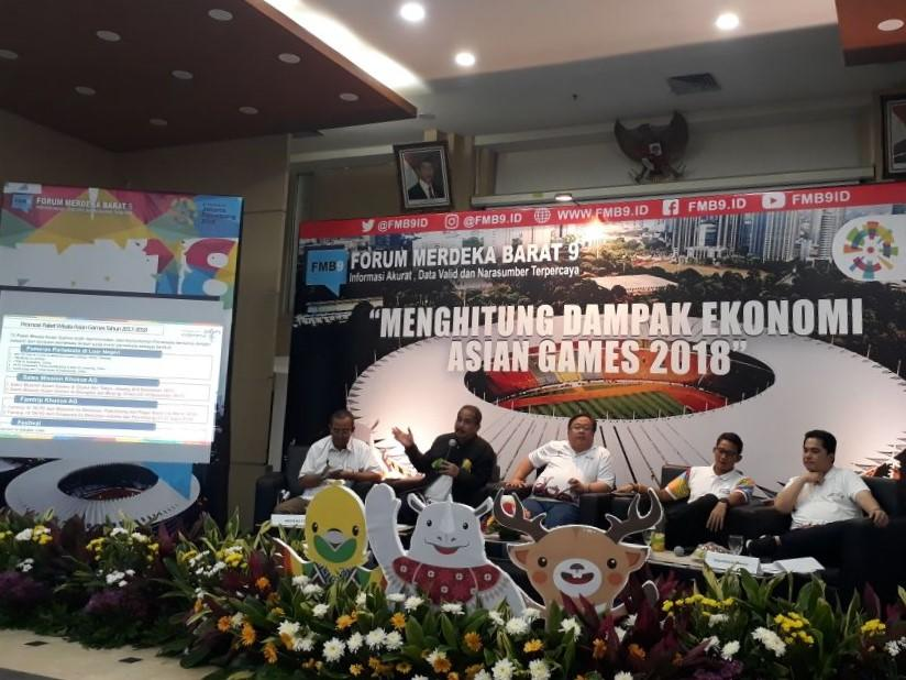 Ajak Masyarakat Sukseskan Asian Games, Menkominfo: Ini Kebanggaan Indonesia