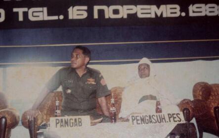 Penyokong Pertama Asas Tunggal Pancasila
