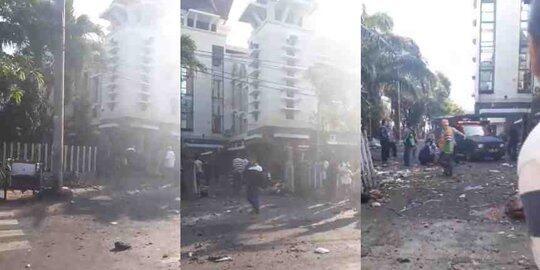 Tragis, Gereja di Surabaya Mendadak Diledakkan!